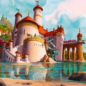 la sirenita castillo